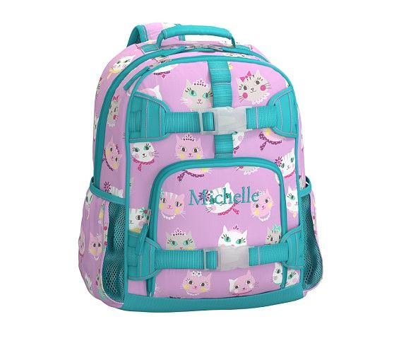 Mackenzie Lavender Kitty Backpacks Pottery Barn Kids