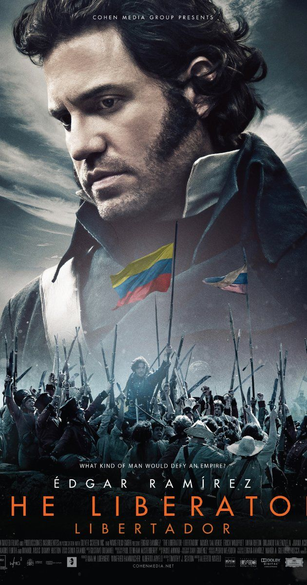 Directed by Alberto Arvelo.  With Édgar Ramírez, Erich Wildpret, María Valverde, Juana Acosta. Simon Bolivar fought over 100 battles against the Spanish Empire in South America. He rode over 70,000 miles on horseback. His military campaigns covered twice the territory of Alexander the Great. His army never conquered -- it liberated.