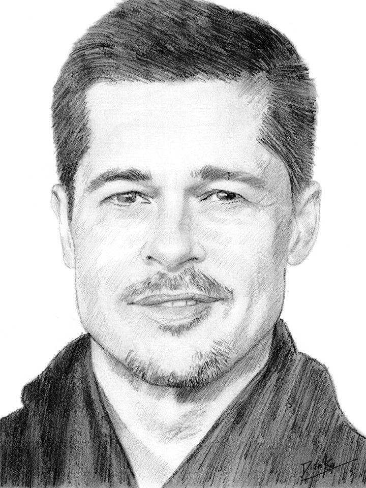 Brad Pitt Brad Pitt Art Insta