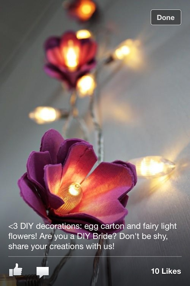 DIY fairy lights