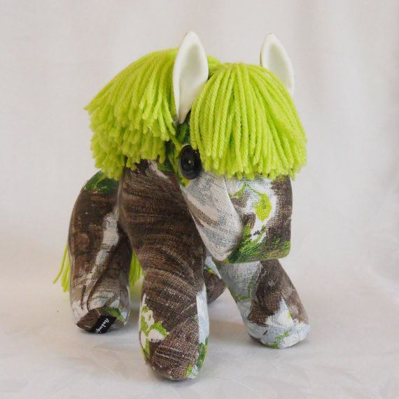 Retro Pony a horse crafted from 50s 60s Vintage by audreyscat, £29.00