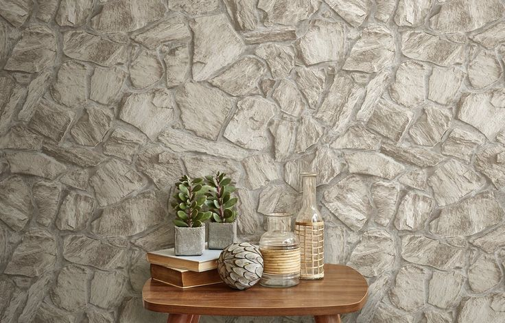 Light Stone Slate Wall - Anka 1604SW1