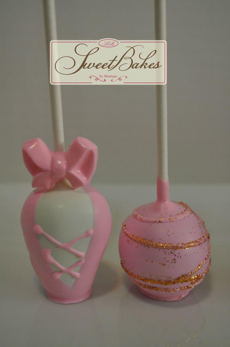 Ballet Theme cake pops #balletcakepops#cakepops