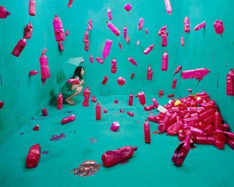 jee young lee - self portrait