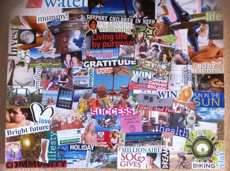 How to creat a vision board and realize your dreams. Vision-Boards-www.marycrimmins.com