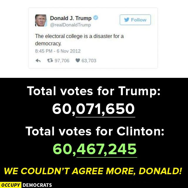 Funniest Post-Election Memes: Electoral College Disaster