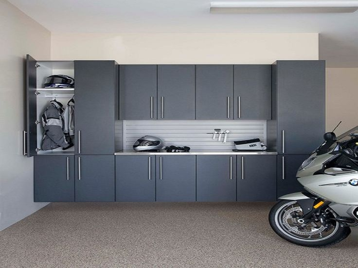 Contemporary Garage Man Cave Designs With Black Cabinet Ideas Home Design