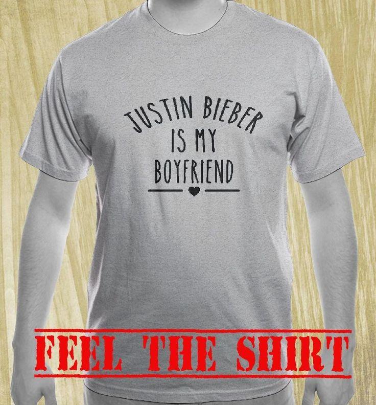 JUSTIN BIEBER TSHIRT JUSTIN BIEBER IS MY BOYFRIEND T-SHIRTS TUMBLR CLOTHING TEE  #Handmade #BasicTee