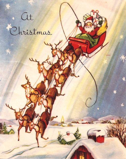 Whoa... Santa has a strong stomach!