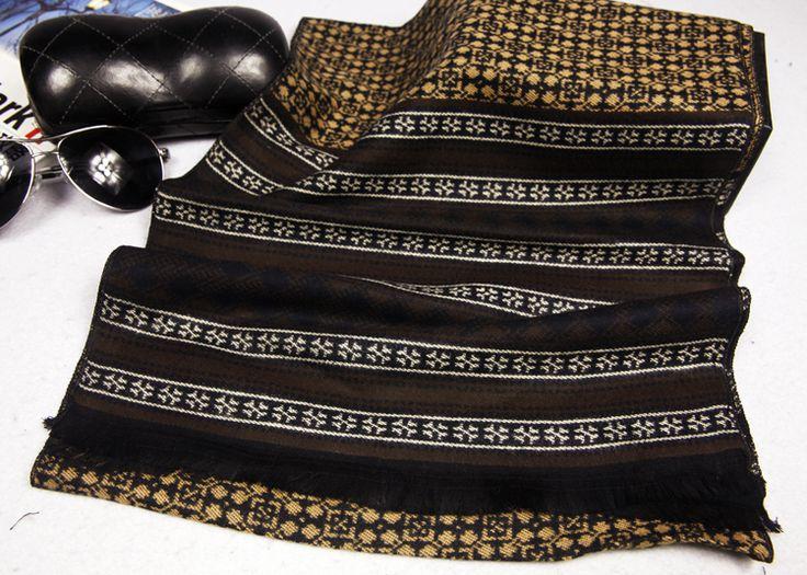 Мода лонг мужская шарфа шаль мягкая пашмины зима классическая