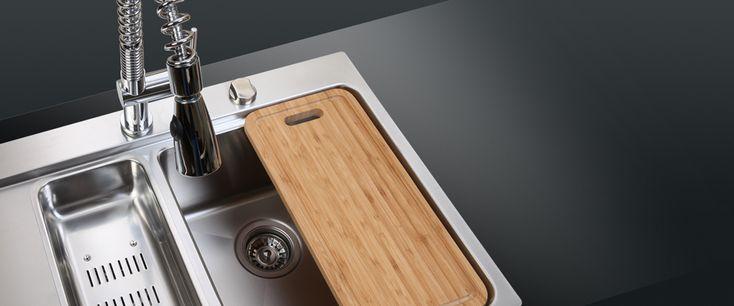 Ukinox Kitchen Sinks | Stainless Steel Sinks | Granite Sinks | Glass Sinks
