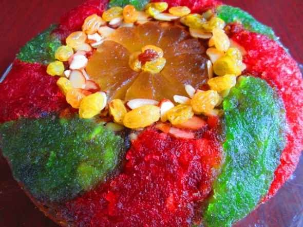 Old Fashioned Rum Soaked Fruit Cake Recipe