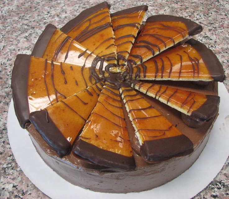 Hungarian Pastry, Dobos cake (1884) - details in the link