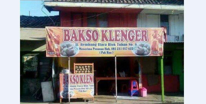 'Bakso Klenger' Surabaya, Wisata Kuliner Yang Memberikan Anda Sensasi Berbeda Saat Menyantap Bakso | Kabarmaya.com