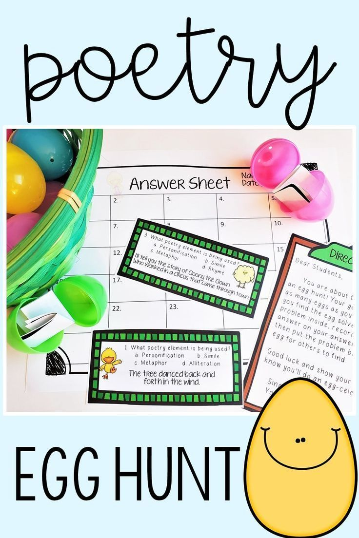 6th Grade Poetry Unit Worksheets Worksheets Are A Crucial Portion Of Gaining Knowledge Of English Infants B In 2021 Egg Hunt Creative Teaching Language Arts Lessons Istep practice worksheets grade