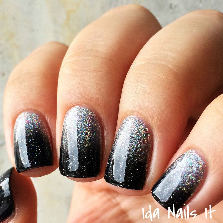 Two Tone Nail Polish Fade: 1000+ Ideas About Two Toned Nails On Pinterest