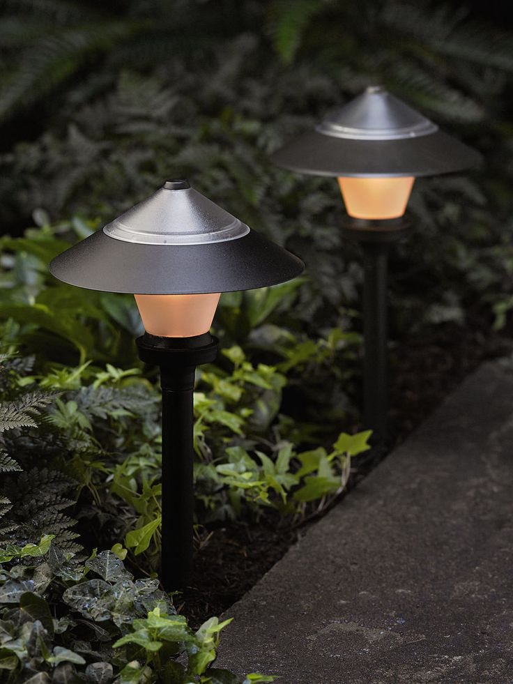 our solar path light illuminates pathways and garden borders the light turns on at dusk and runs for about six hours on a full charge