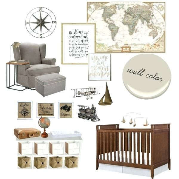 Travel Themed Nursery Vintage By 1 On