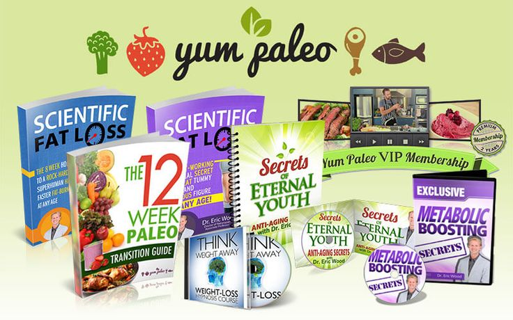 The Ultimate Source Of Delicious Paleo Recipes    Live Longer And Lose Weight With The World's Most Delicious, Nutritious Paleo Recipes!   (The ONLY Paleo Recipe Library Endorsed By  Weight-Loss Specialist Dr. Eric Wood, ND)