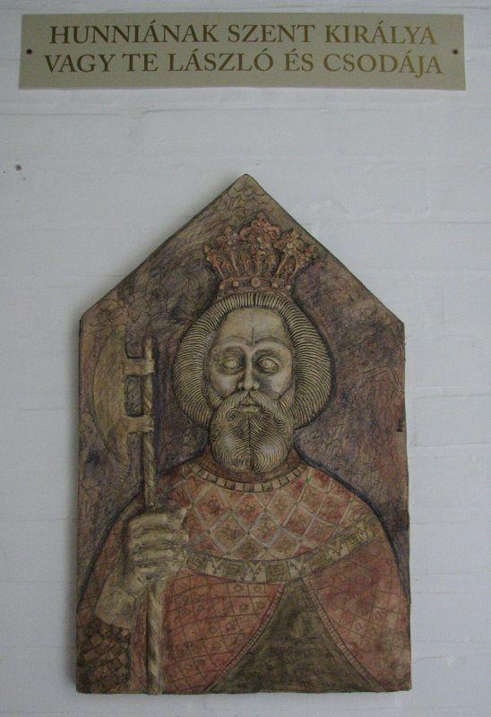 """Szent László királyunk """"faképe"""" #latnivalo #somogyvar #turabazis"""