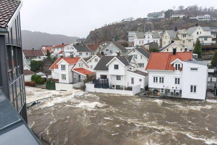 Flommen i Egersund