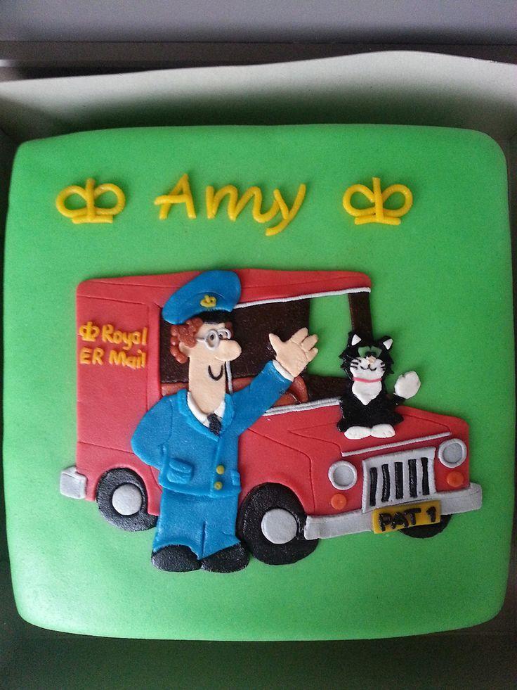 #pieterpost taart #postman pat cake