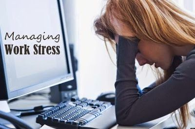 6 Ways to Manage Work Related Stress