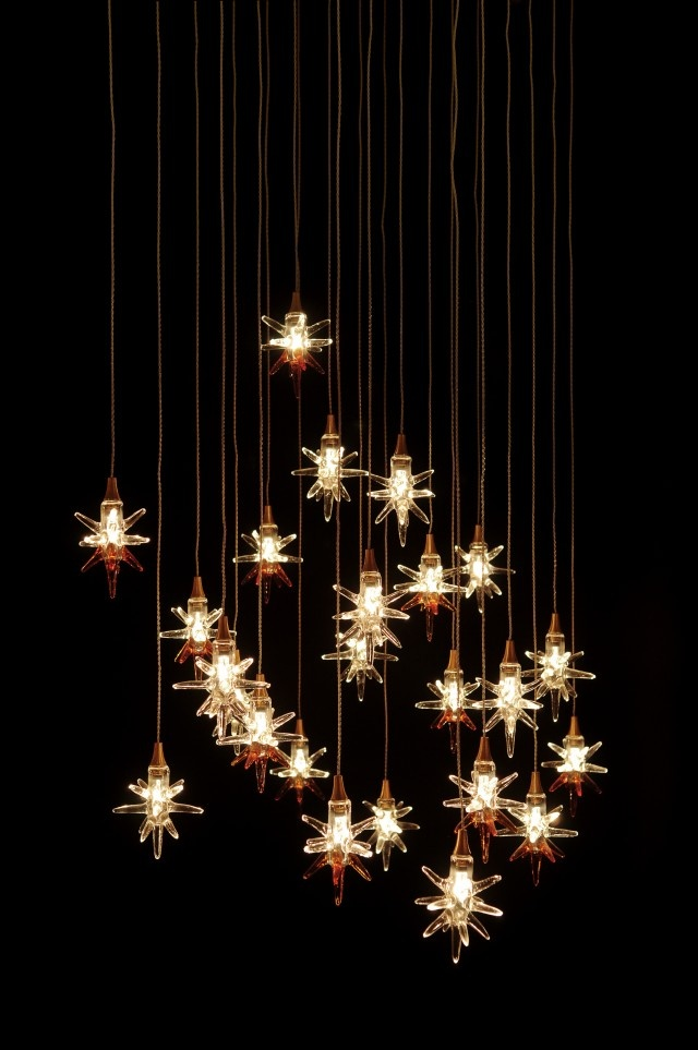 18 best breath collection custom blown glass lighting and star these charming art glass stars are sure to bring sparkle to any space mozeypictures Image collections