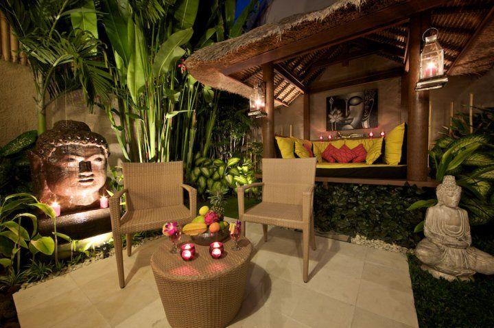 Bali courtyard