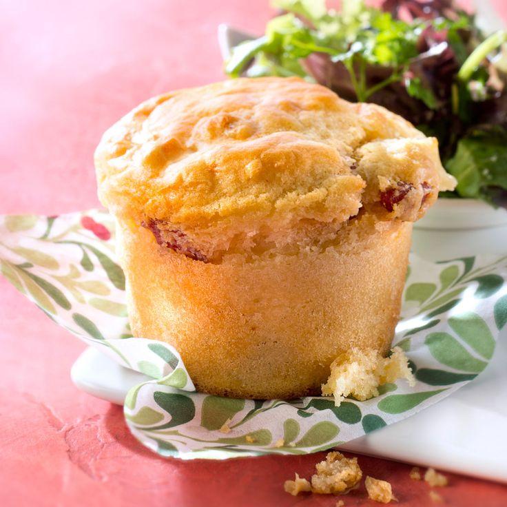 Découvrez la recette du muffin au chorizo