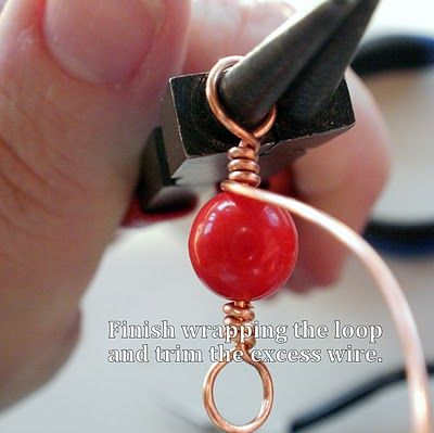 Wrapped Wire Loop #Tutorial #jewelry #beading #DIY