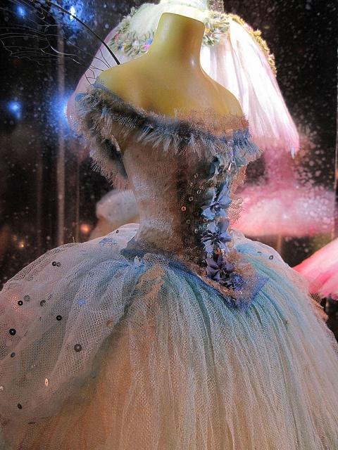 I love the pretty princess dresses!  Little Costume Shop (186) by malcolm bull, via Flickr; designer Vinilla Burnham