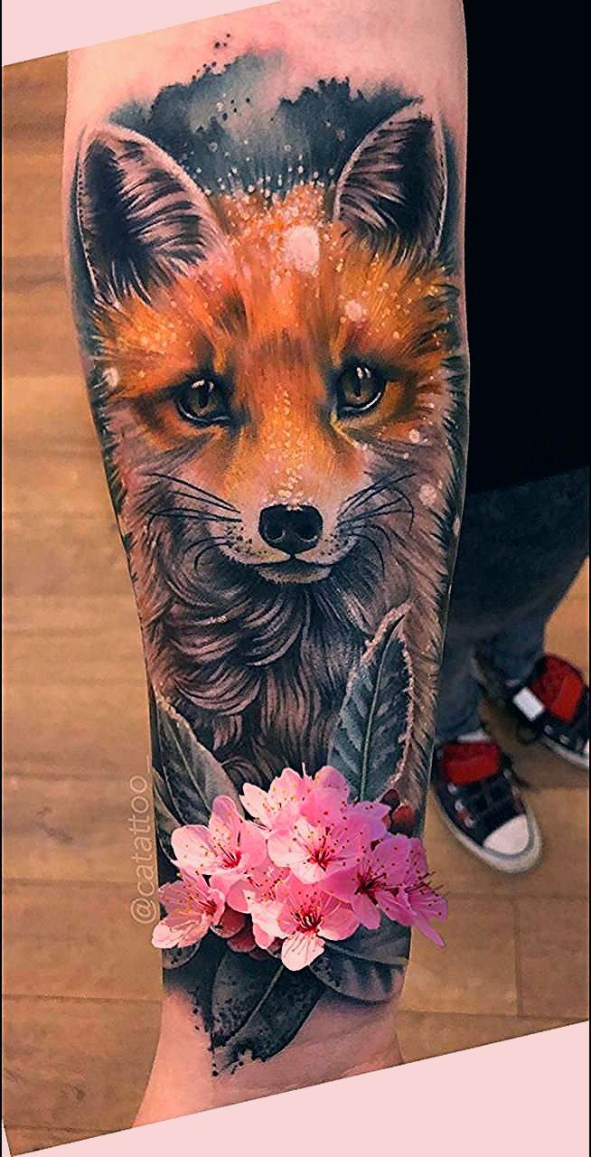Pin By Nora Camilla On Foxes In 2020 Red Fox Tattoos Fox Tattoo Design Fox Tattoo