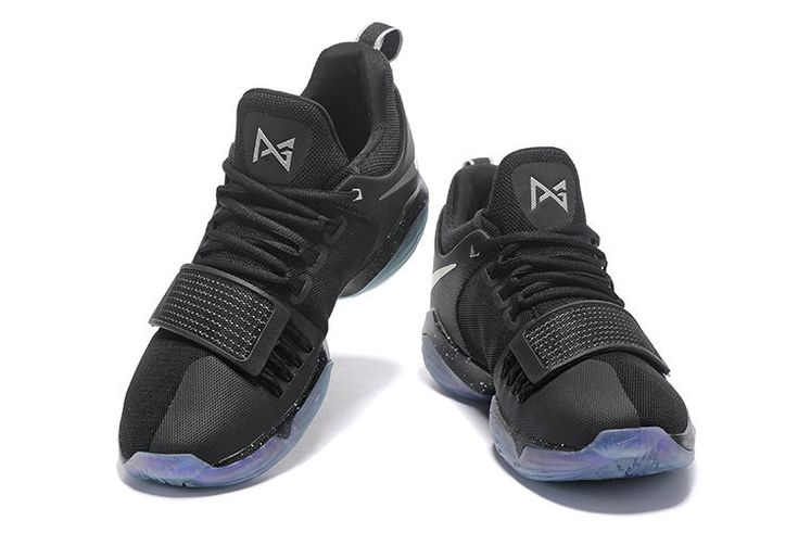 Free Shipping Only 69$ Nike PG 1 Paul George Black SiLVSer