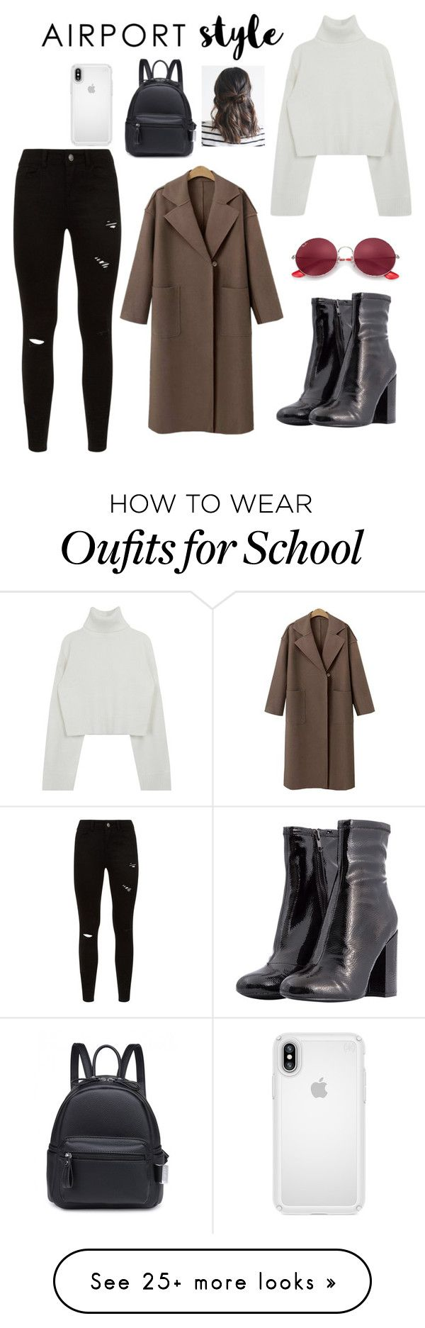 """Style"" by abdulkhalik22 on Polyvore featuring Steve Madden, Ray-Ban, Speck and airportstyle"