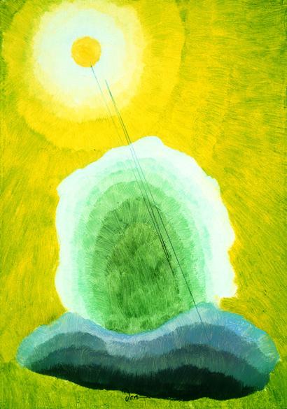 arthur dove - golden sun