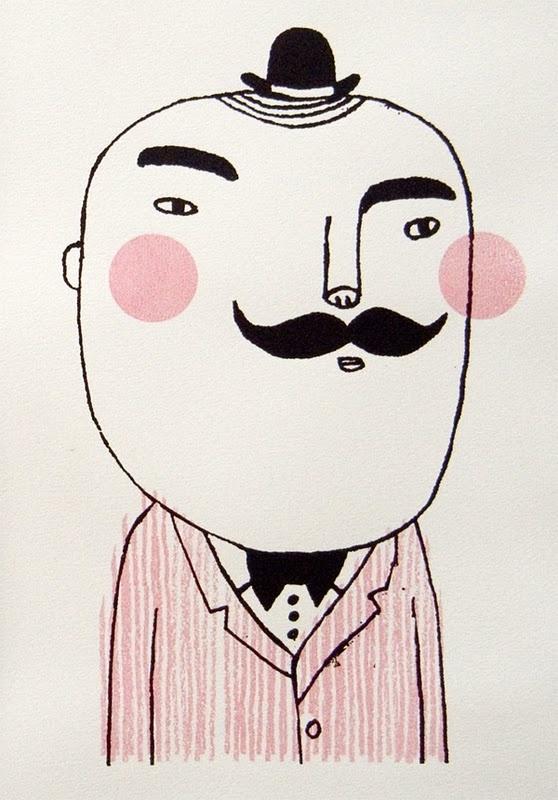 Camilla Engman - Studio Violet -Mr Mustache