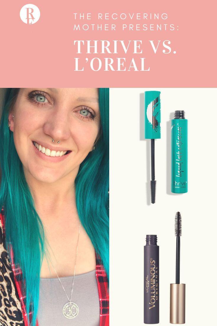 c82ce4ed0c4 Thrive Causemetics vs L'Oréal Voluminous Mascara | Product Review | loreal  | Cosmetic | Cosmetics | Thrive Mascara Review | Thrive Cosmetics Mascara  Review ...