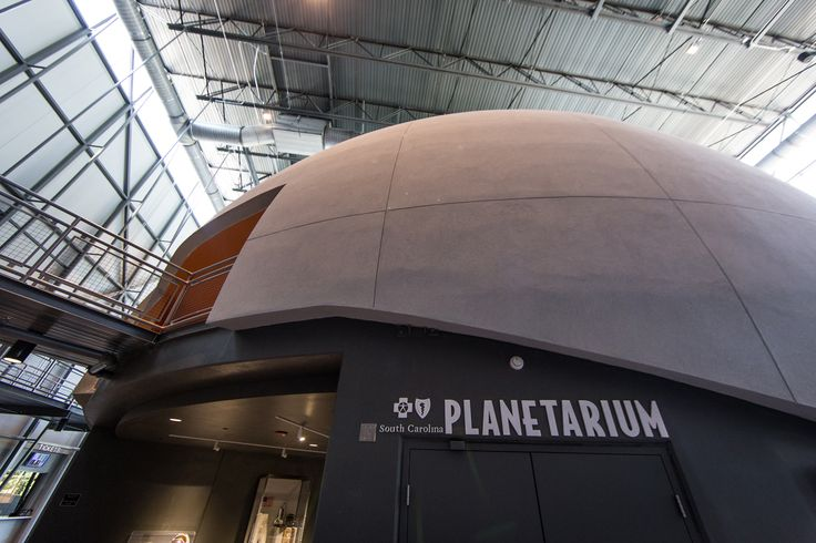 The new digital dome BlueCross BlueShield of South Carolina planetarium at the South Carolina State Museum. Photo by Jonathon Sharpe. Learn more at http://scmuseum.org   BlueCross BlueShield of South Carolina is an independent licensee of the Blue Cross and Blue Shield Association.