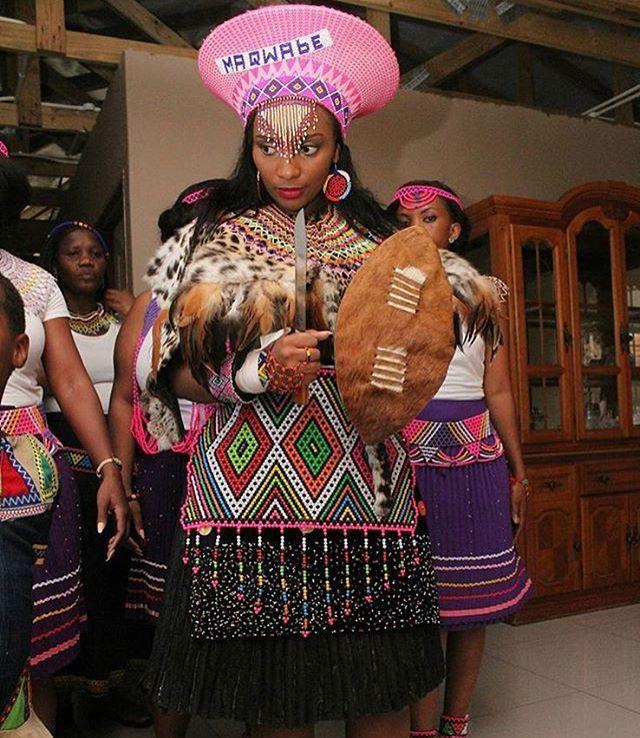 #Zulu Bride