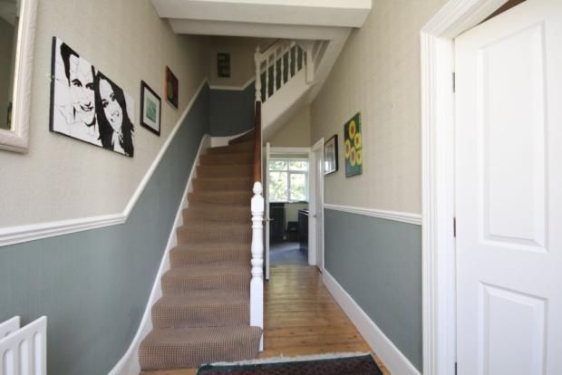 Colour Ideas Living Room Dado Rail Lamp | For The House Rail, Hallway ...