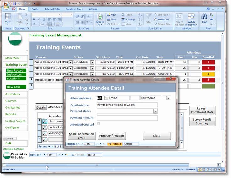 Microsoft Access Form Template Elegant Microsoft Access Templates Powerful Ms Access Te Project Management Templates Access Database Document Management System