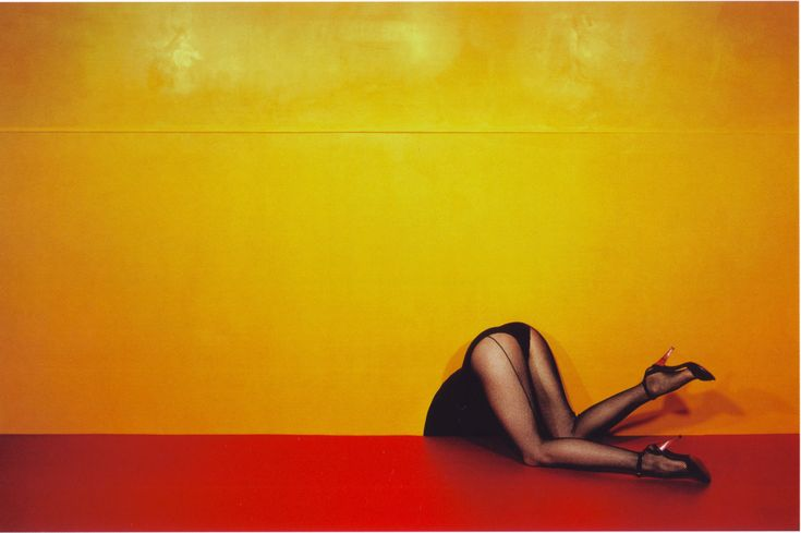 The Photography Legends come back on the blog this week with Guy Bourdin, although he was not celebrated and publicly famous as Richard Avedon or Helmut Newton who were his contemporaries, Bourdin has a considerable legacy.  Bourdin was a pioneer of Fashion Photography bringing some graphic style imagery and the