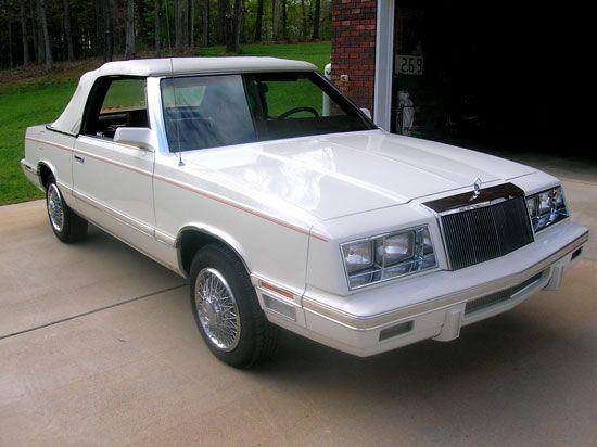 1982 Chrysler Lebaron Convertible Sale