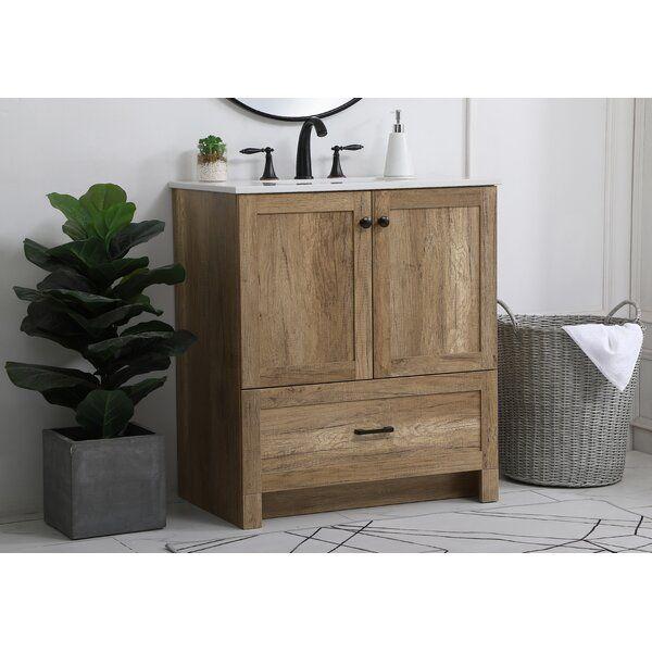 Shirk 30 Single Bathroom Vanity Set In 2020 Single Bathroom Vanity Bathroom Vanity Single Sink Vanity