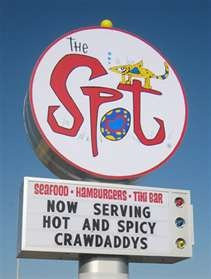 The Spot ~ Galveston, TX   here is the after party! great big plates of good old fashioned beach food :)