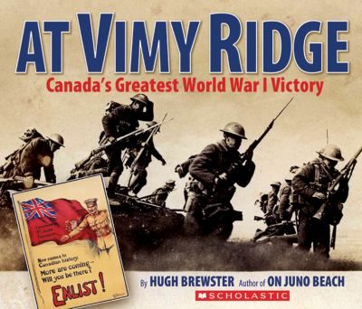 At Vimy Ridge, Canadian soldiers achieved what more experienced soldiers from Britain and France could not -- taking the strategic position of Vimy Ridge from the Germans. It was the battle that helped a young country discover its national pride, as for the first time, Canadians fought as Canadians, and achieved a significant victory. Gr.6-9