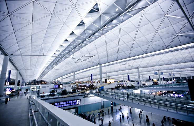 Visit http://666travel.com/the-10-most-beautiful-airports-in-the-world/ ... Photo: Hong Kong International Airport - Chek Lap Kok, Hong Kong