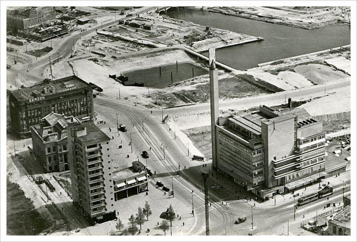"Department Store ""De Bijenkorf"" Rotterdam (after bombardment)"
