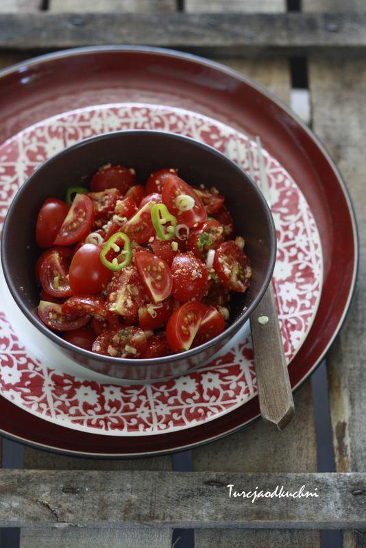 Turcja od kuchni: Sałatka z pomidorami i serem